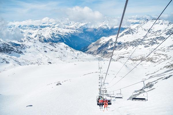 ヴァル・トランスの壮大なスキー場