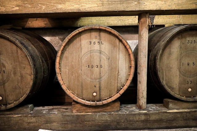 一つのワイン樽でワインボトル300本分にした