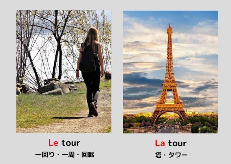 一周とタワー「tour」