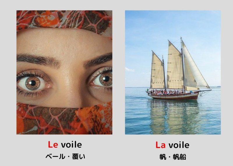 ベールと帆「voile」
