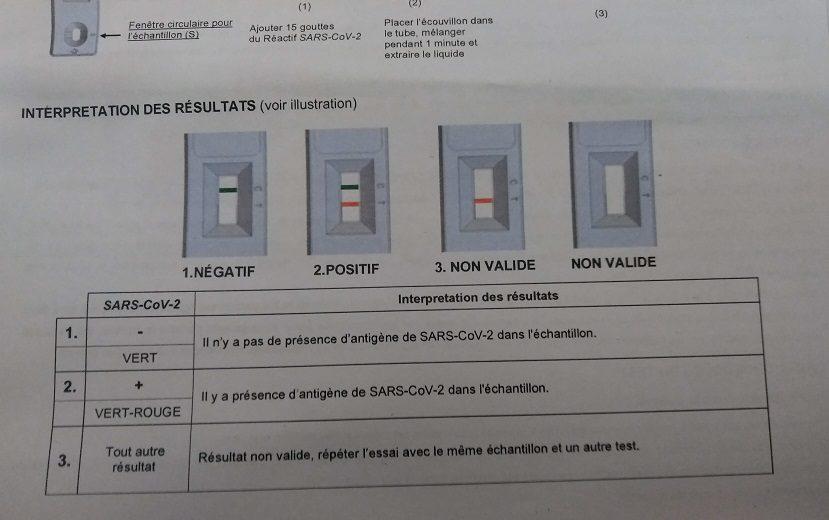 フランスでコロナ感染を疑われ検査で振り回されてきた話