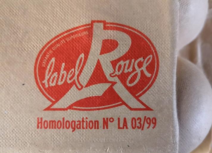 赤ラベル(Label Rouge)マーク